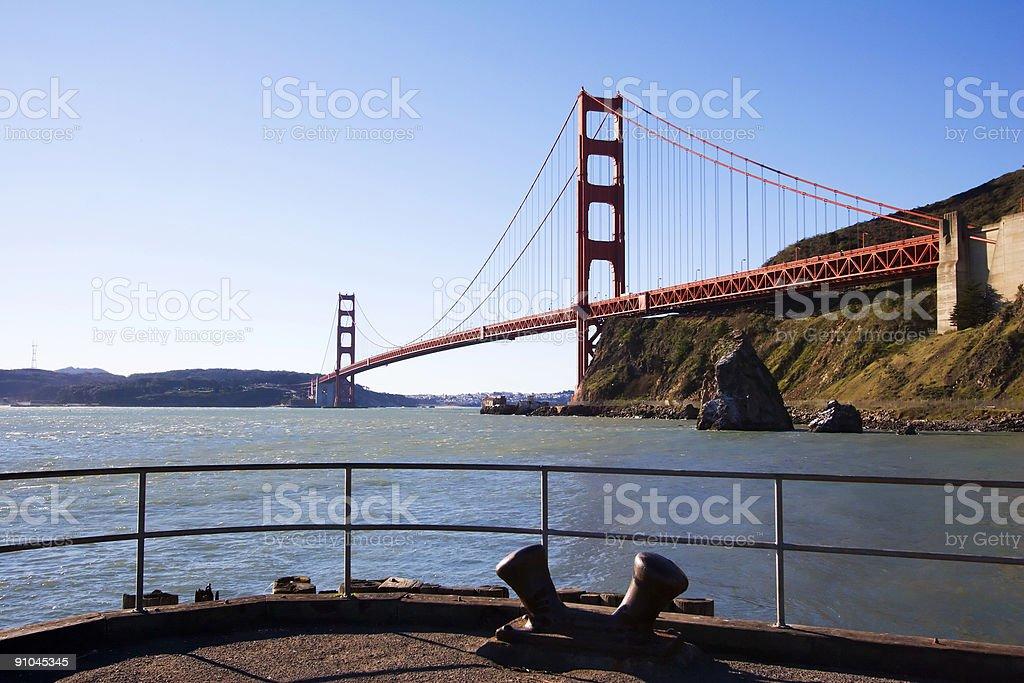 Pier View royalty-free stock photo