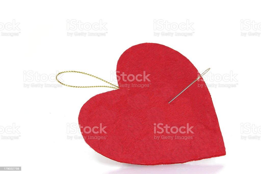 Pierced Heart royalty-free stock photo