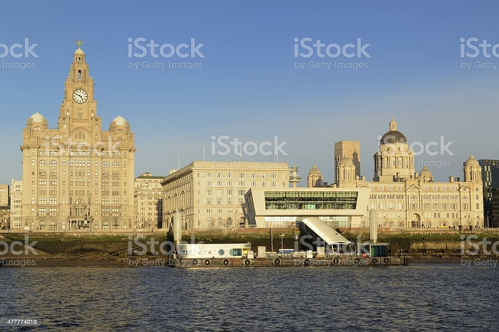 Pierhead, Liverpool royalty-free stock photo