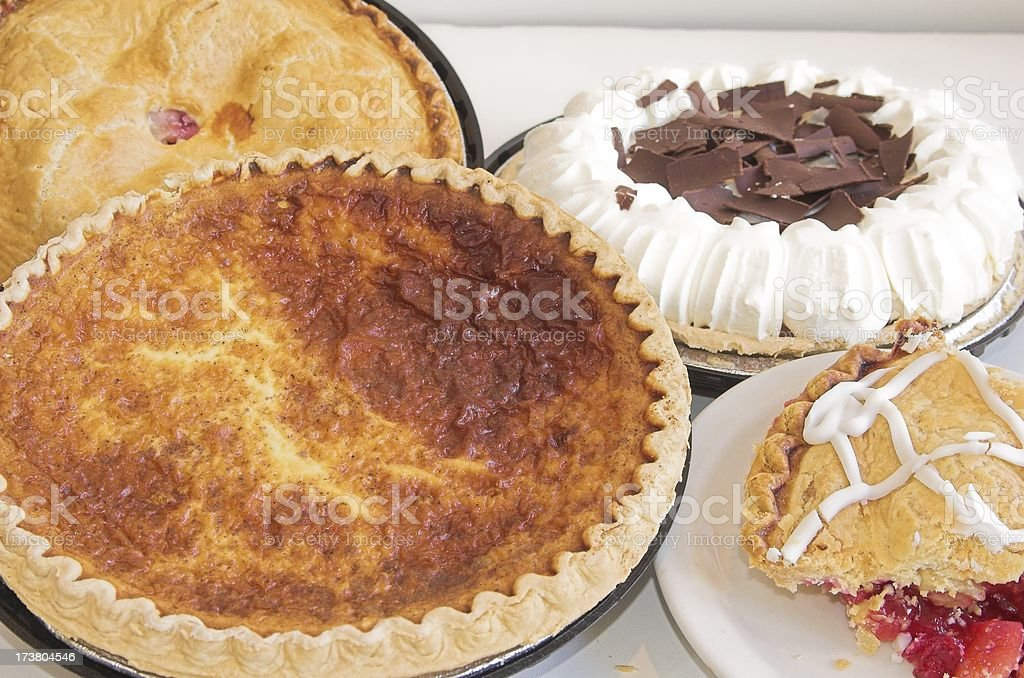 Pies royalty-free stock photo