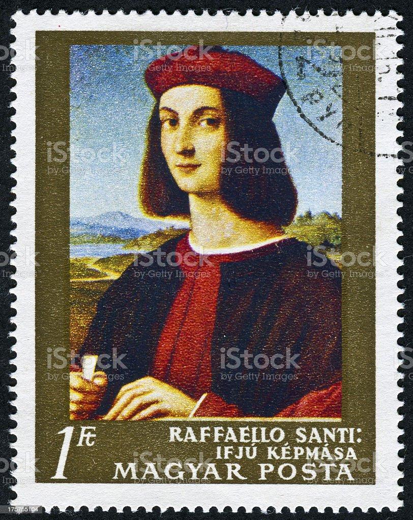 Pietro Bembo Stamp royalty-free stock photo