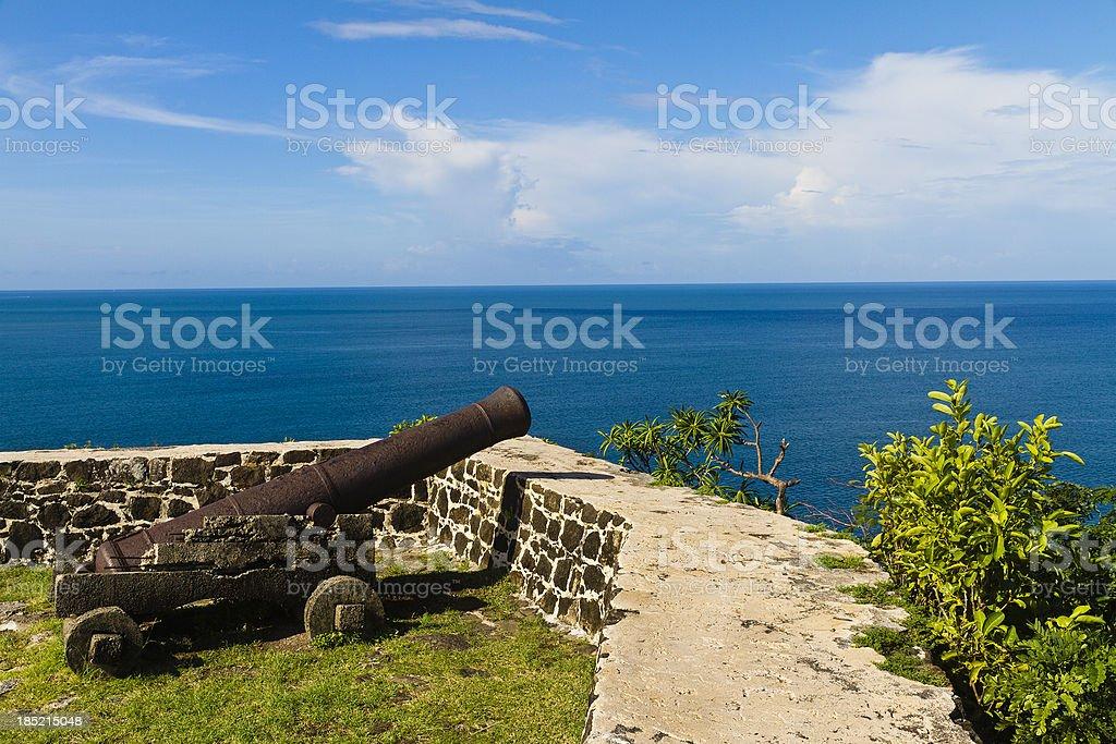 Pigeon Island National Park, Saint Lucia stock photo