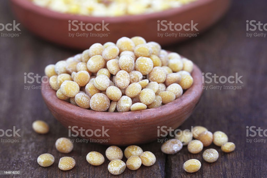 Pigeon pea stock photo