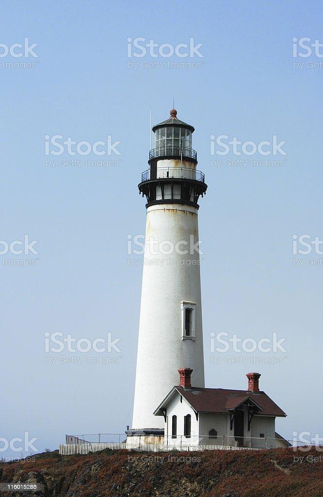 Pigeon Point Lighthouse, Pescadero, California stock photo