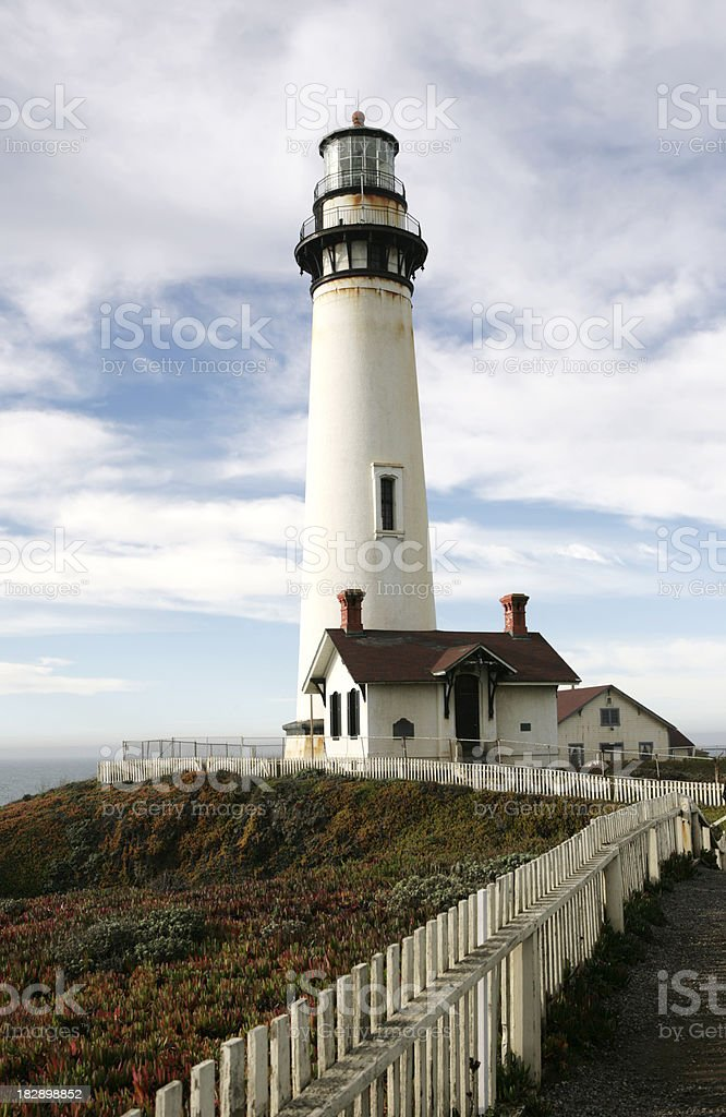 Pigeon Point Lighthouse royalty-free stock photo