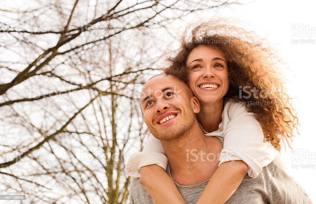 piggy back royalty-free stock photo