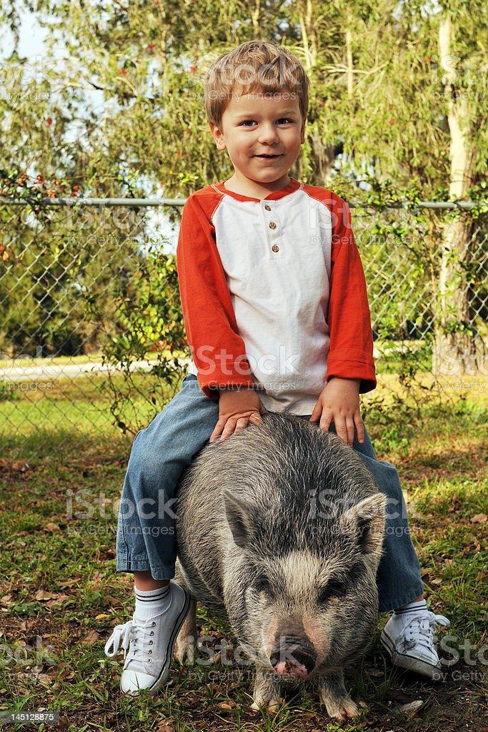Piggy Back Ride royalty-free stock photo