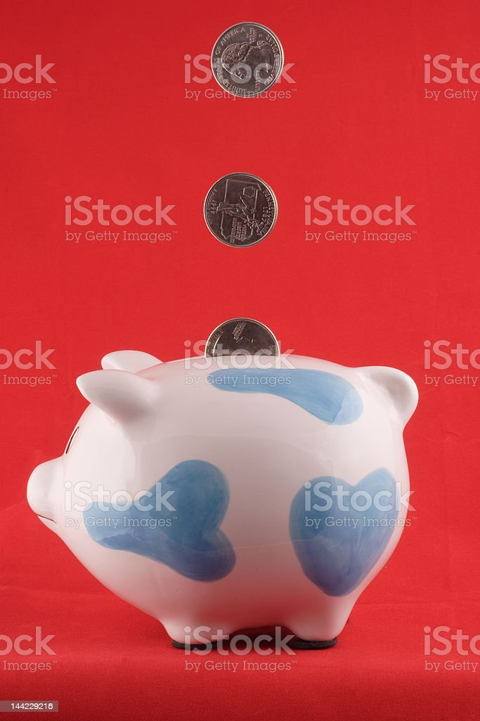 Piggy Bank 3 stock photo