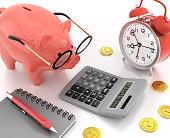Piggy Bank Accounting