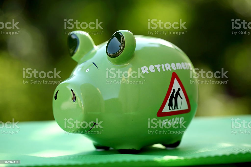 Piggy bank - money concept stock photo