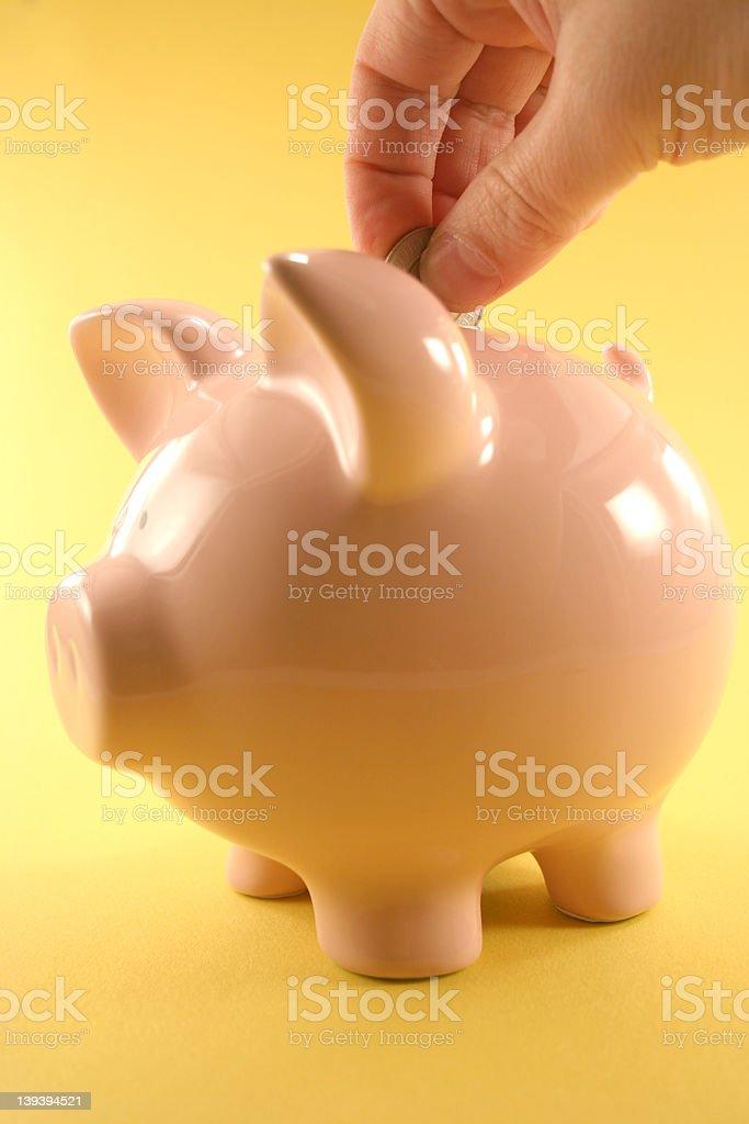 Piggy Bank royalty-free stock photo