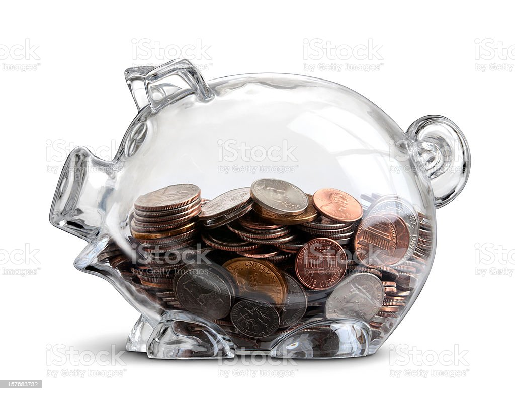 Piggy Bank Savings stock photo