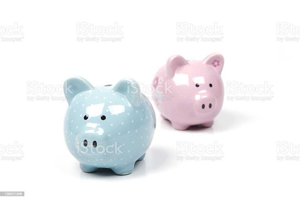 Piggy Bank Series royalty-free stock photo
