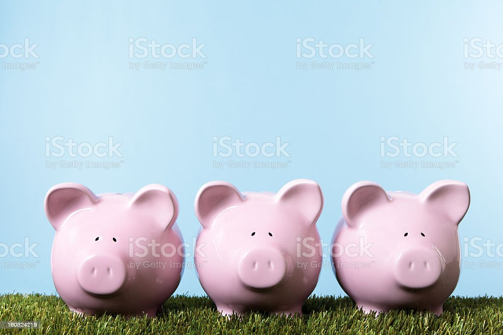 Piggy Banks royalty-free stock photo