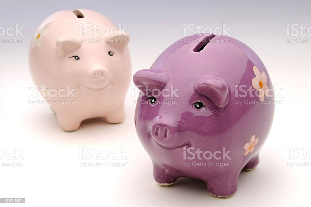 Piggy Banks royalty-free stock photo