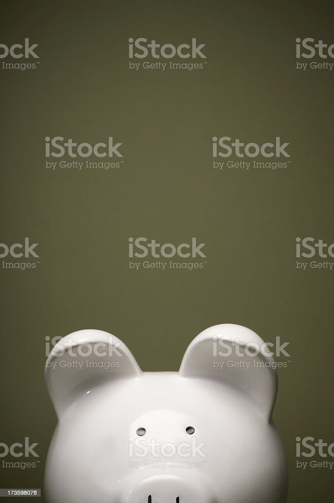 piggy head bank royalty-free stock photo