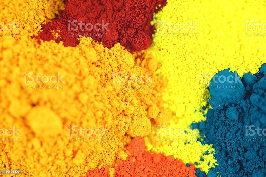 Pigments stock photo