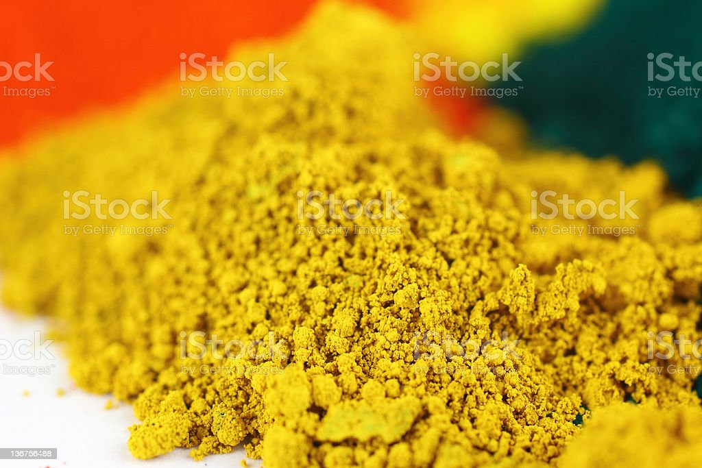 Pigments royalty-free stock photo