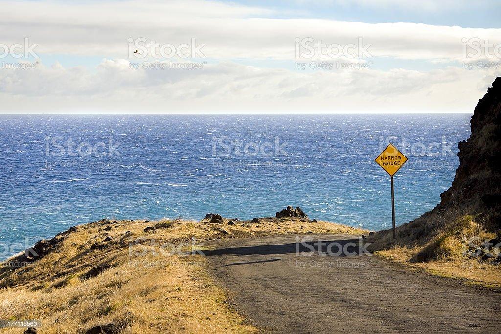 Piilani Highway royalty-free stock photo