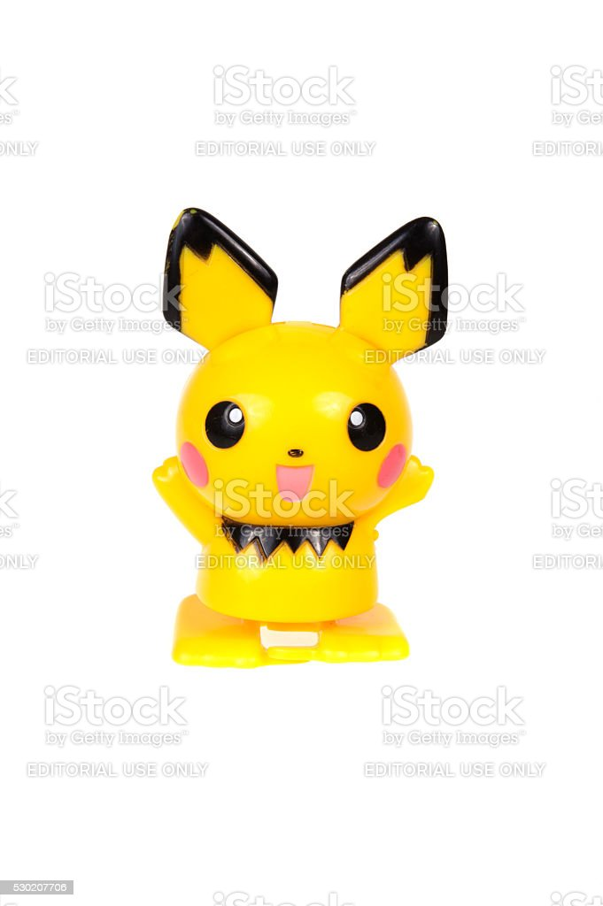 Pikachu Figurine stock photo