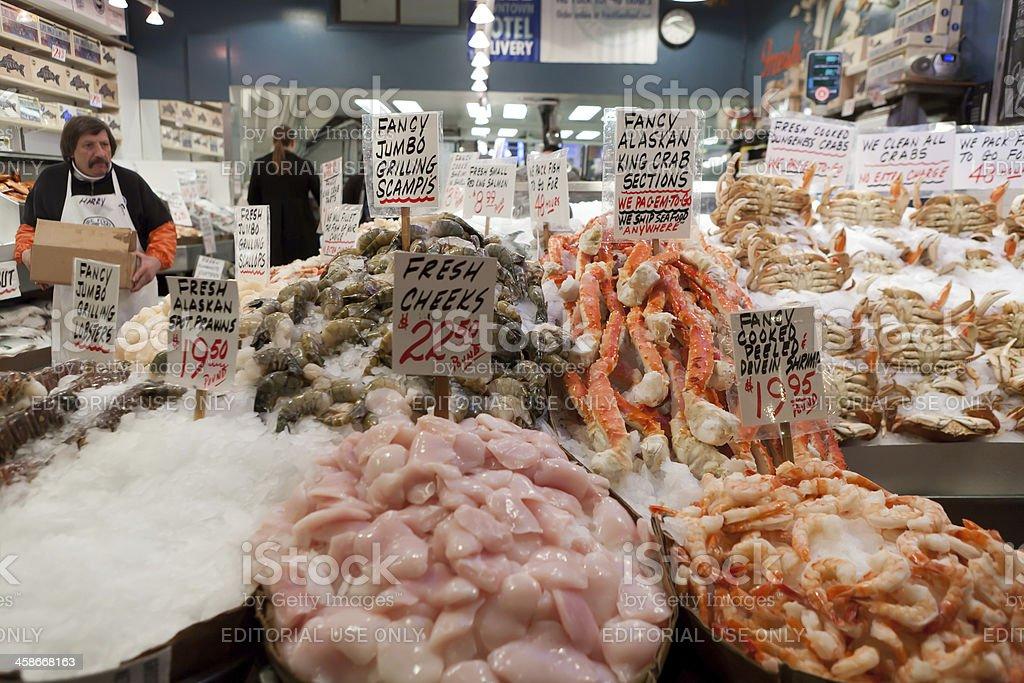 Pike Market Seattle royalty-free stock photo