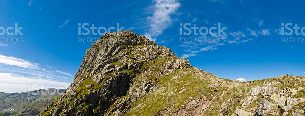 Pike O'Stickle, Lake District, UK royalty-free stock photo
