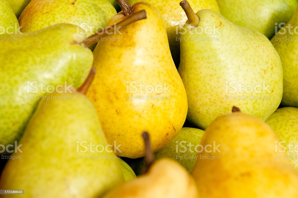 Pike Place Market Pears royalty-free stock photo