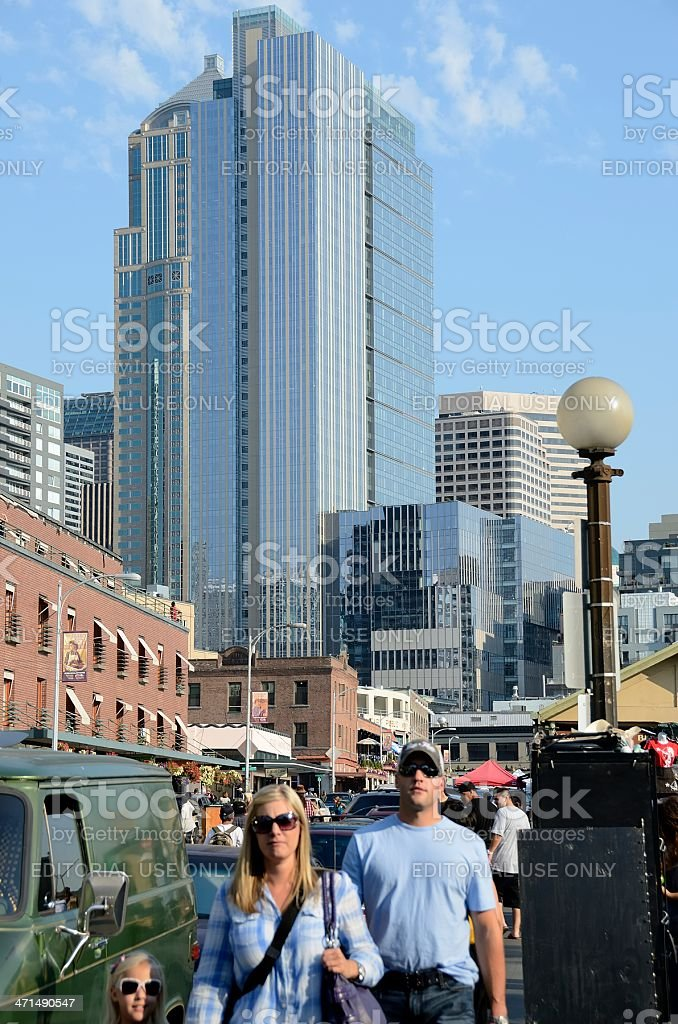 Pike Place Market, Seattle royalty-free stock photo