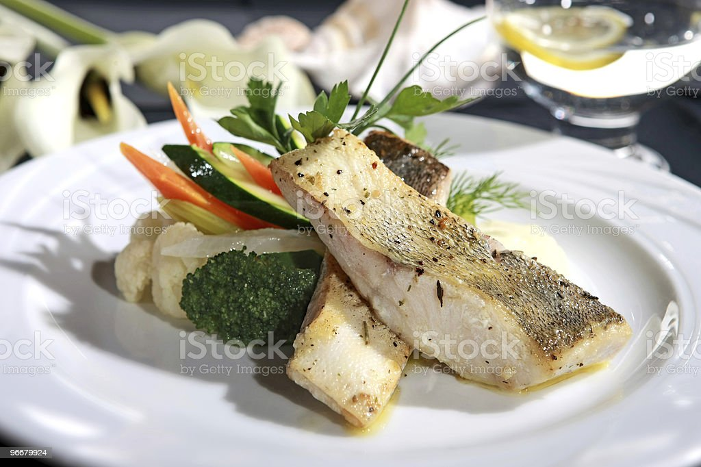 pikeperch stock photo