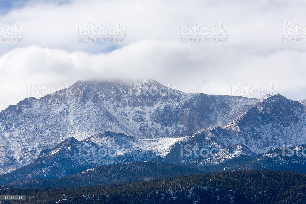 Pikes Peak royalty-free stock photo