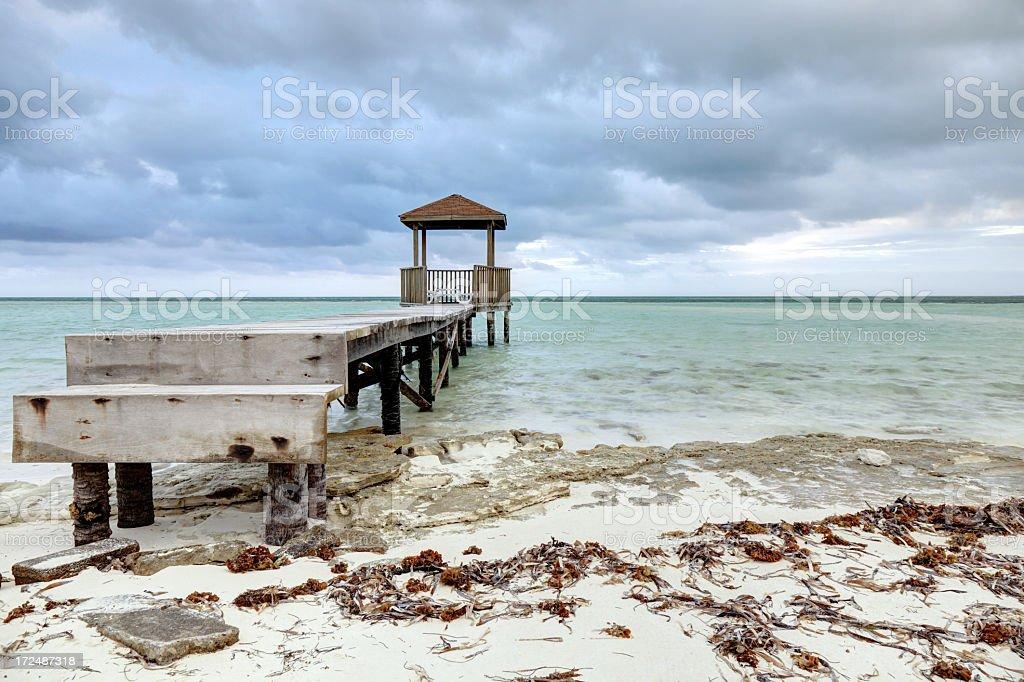 Pilar beach royalty-free stock photo