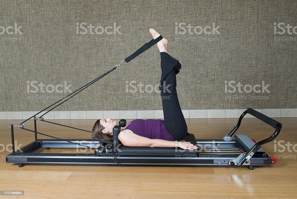 Pilates Machine royalty-free stock photo