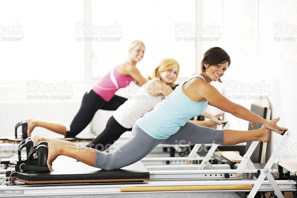 Pilates Machine. royalty-free stock photo