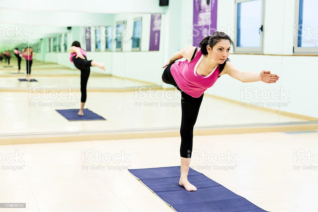 Pilates royalty-free stock photo