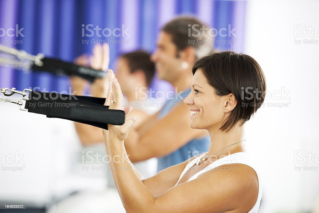 Pilates. royalty-free stock photo