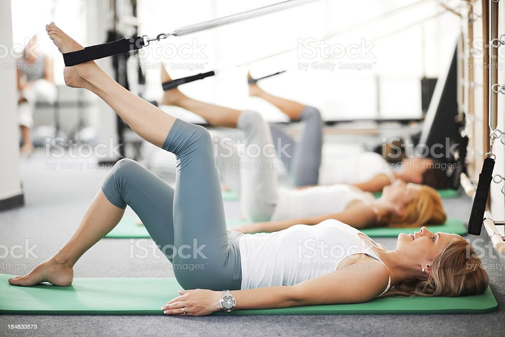 Pilates. stock photo
