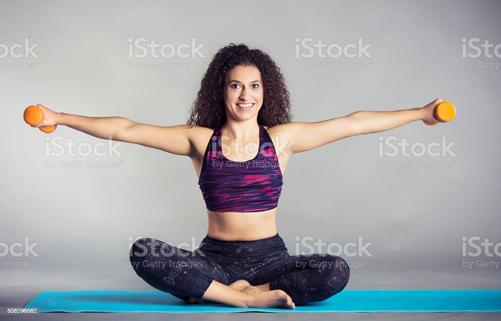 Pilates stock photo