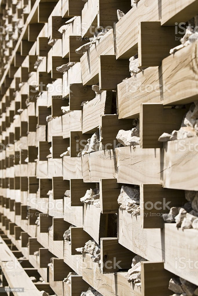 Pile of ballast stock photo