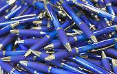 pile of ballpoint pens