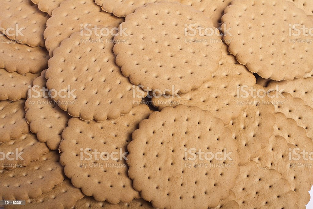 pile of biscuits royalty-free stock photo