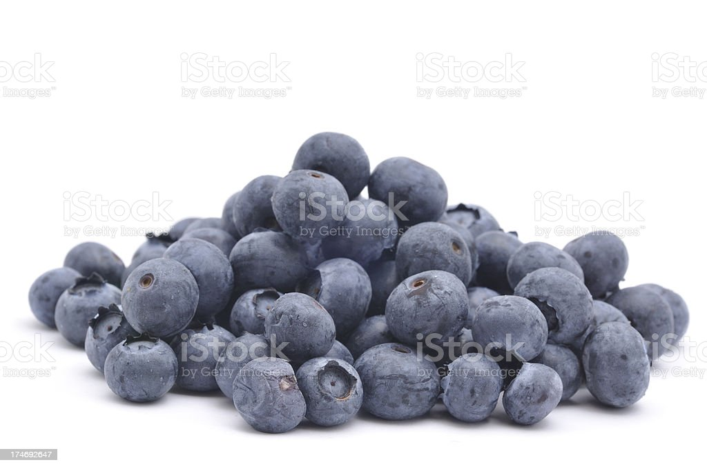 Pile of Blueberries stock photo