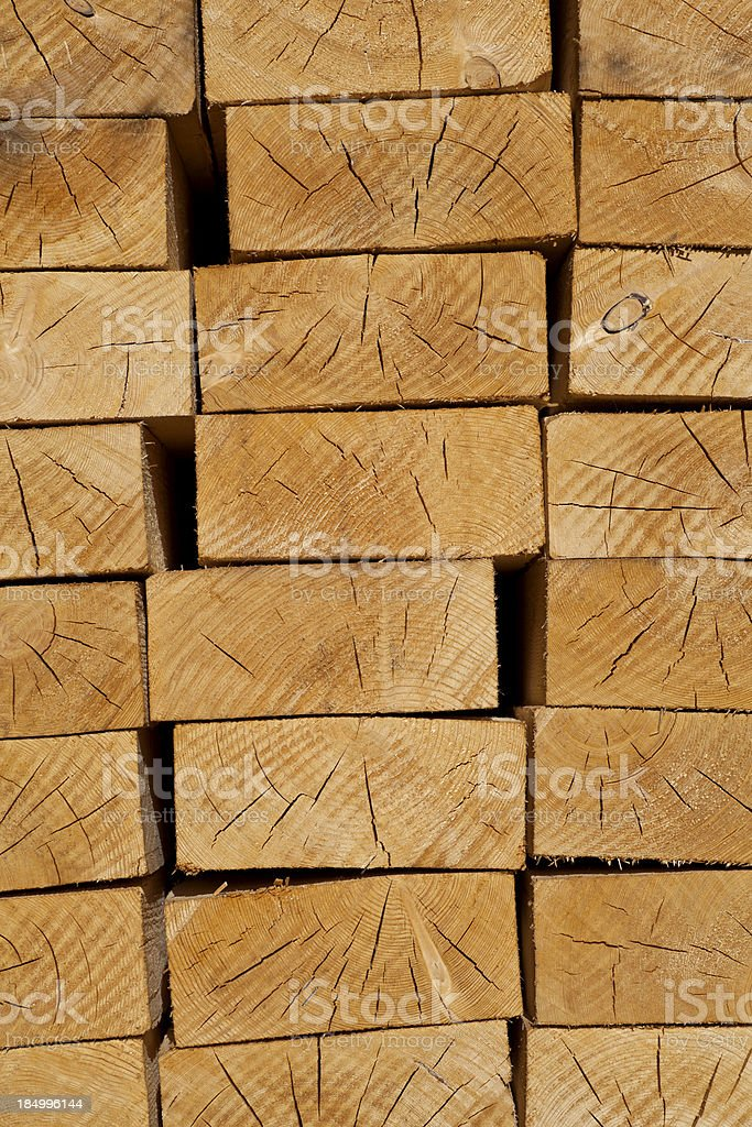 Pile of boards royalty-free stock photo