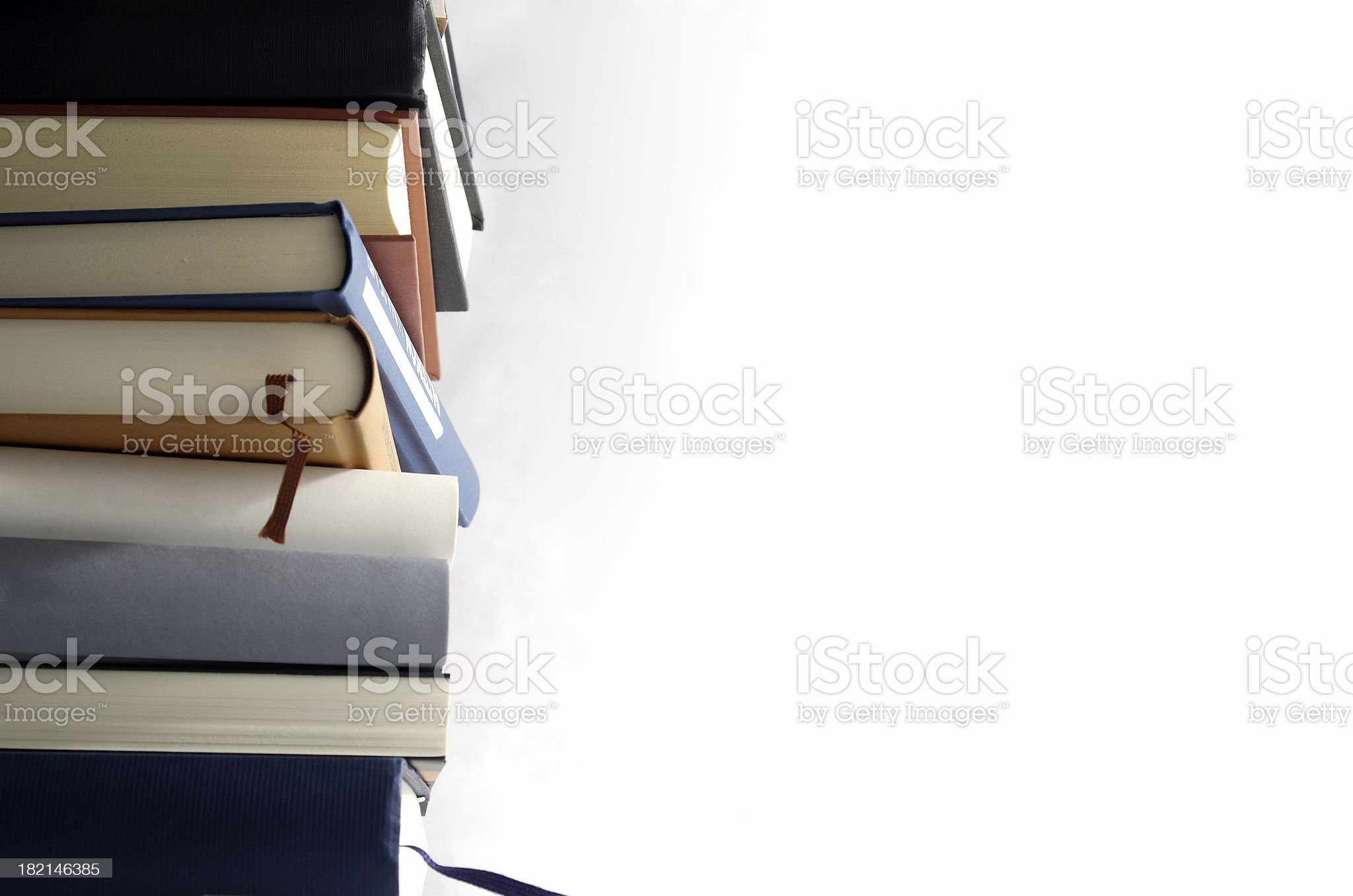 Pile of books royalty-free stock photo
