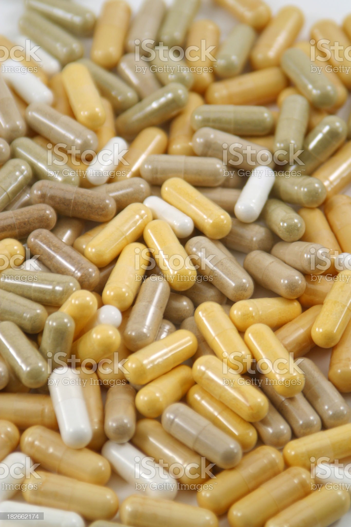 Pile of Capsules 1 royalty-free stock photo