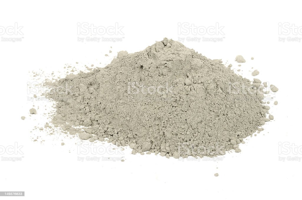 Pile of Cement royalty-free stock photo