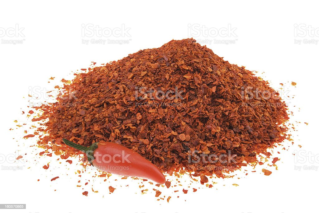 Pile of chilli pepper royalty-free stock photo