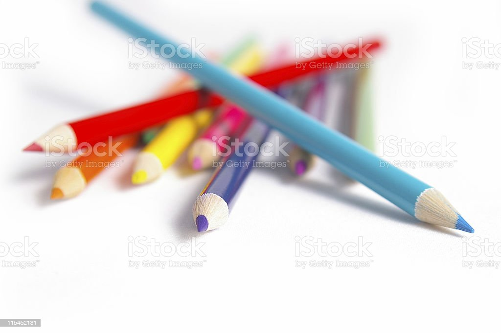 Pile of Colors royalty-free stock photo