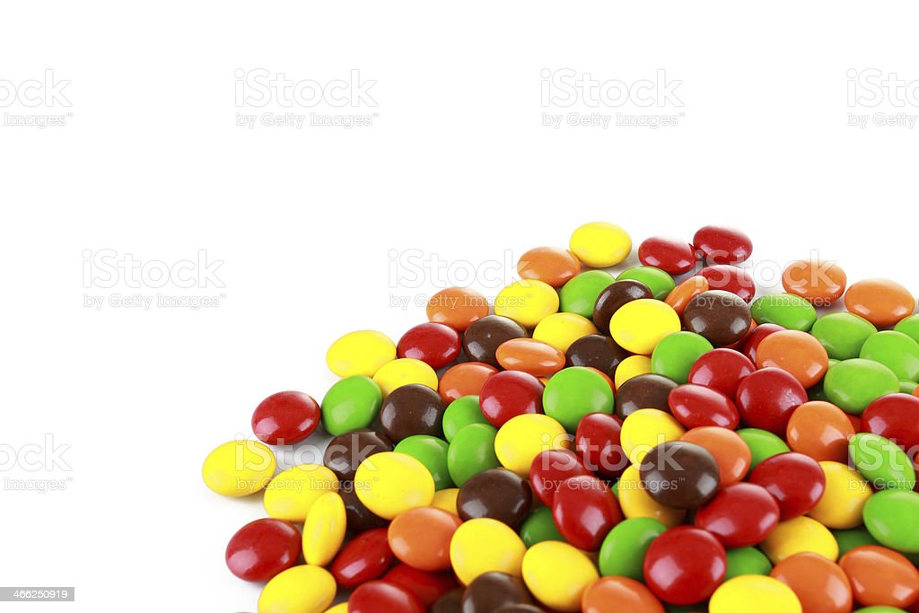 Pile of colourfull candies stock photo