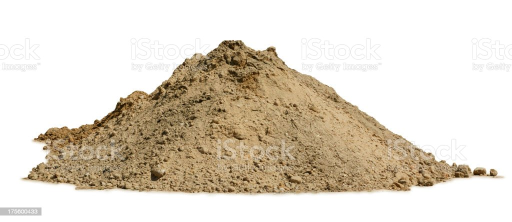 Pile of Dirt stock photo