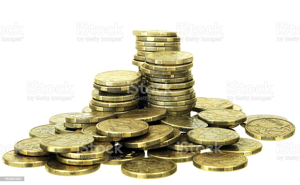 Pile of Dollars stock photo
